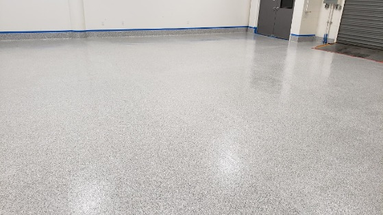 View of a Large Floor Section After Epoxy Floor Coating in Longmont, CO, by PREMIER FLOORING